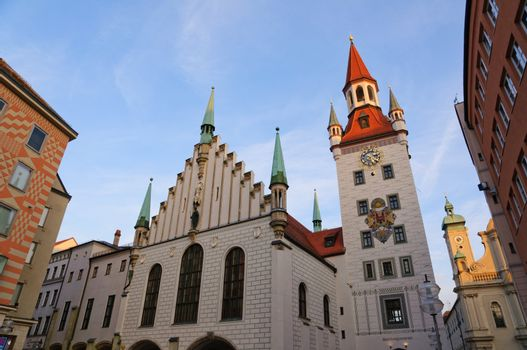 Old City Hall of Munich, Germany