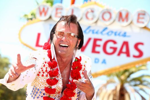 Las Vegas Elvis impersonator