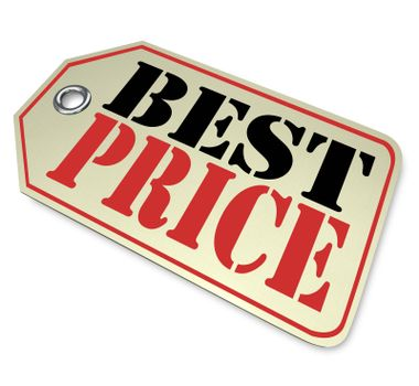 Best Price Sale Discount Tag Save Money