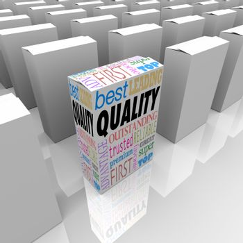 Quality Box Stands Out Best Product Among Many Competitors