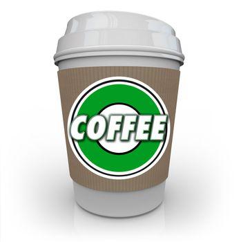 Coffee Plastic Cup Morning Java Drink Caffeine