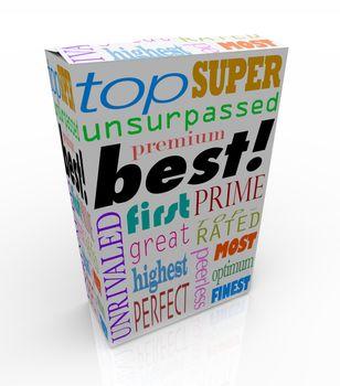 Best Words on Product Box Top Premium Buy