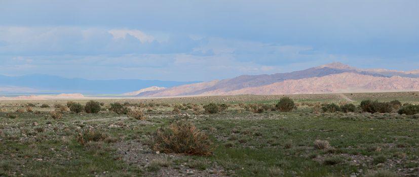 Altai mountains. Beautiful highland landscape. Mongolia