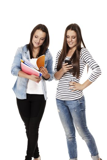 two busy students