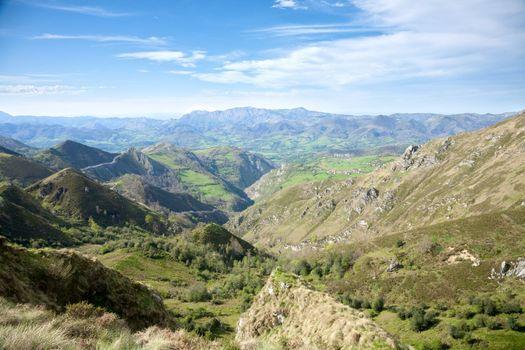 valley in Picos de Europa