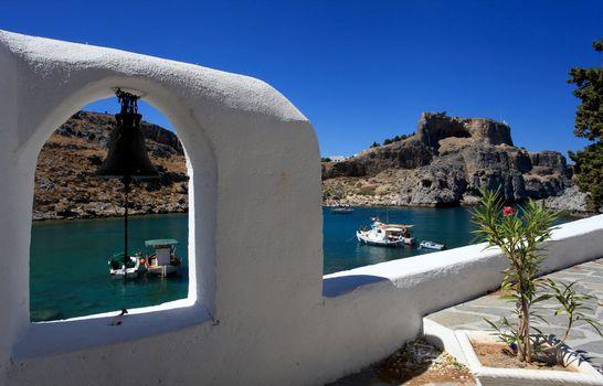 St Pauls Bay Lindos Rhodes Greece
