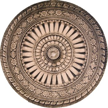Rowel stone of buddhism