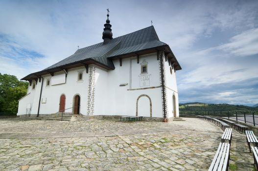 Church in rural Poland