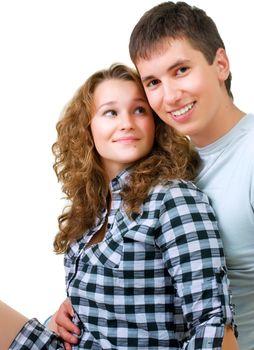 Healthy Young Couple Portrait