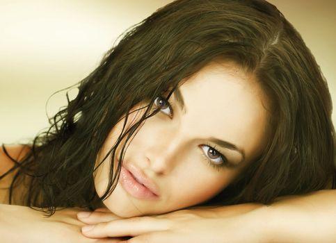 Amazing Girl's face