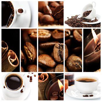 Beautiful Coffee Collage