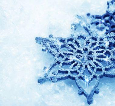 Winter Snow Background. Snowflakes