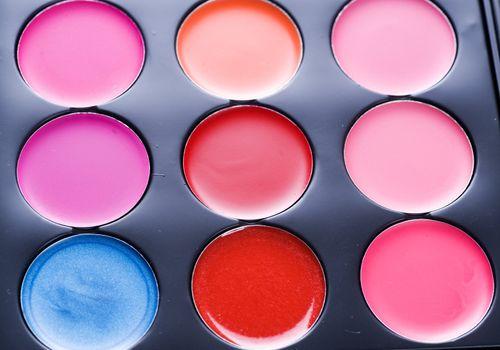 Makeup set. Professional multicolor palette