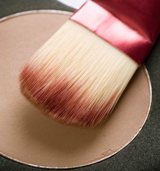 Makeup facial powder. Foundation