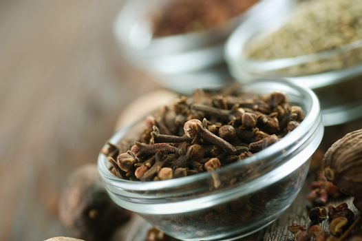 Spices. Cloves