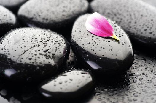 Spa Wet Stones Closeup