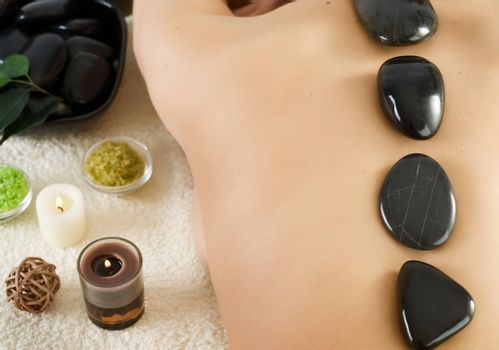 Spa. Stone therapy