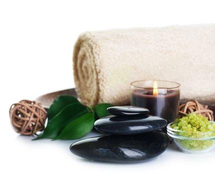 Spa Treatment Over White
