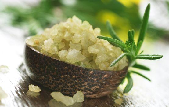 Spa Salt With Herbs