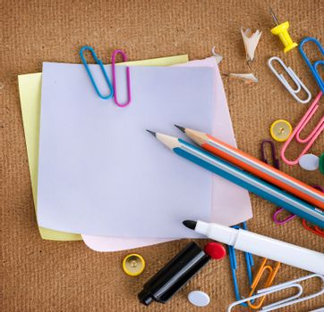 Stationery. School Accessories