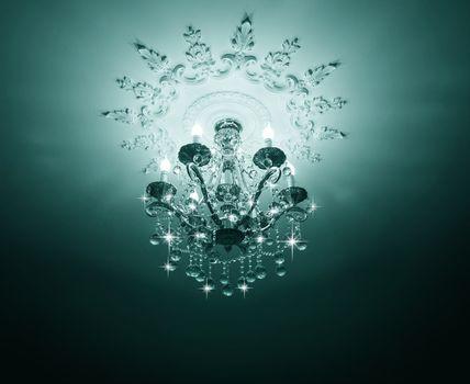 Classic Crystals Chandelier