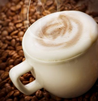 Coffee Latte or Cappuccino