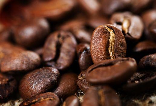 Coffee. Selective Focus