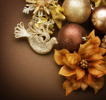 Christmas Decorations. Vintage styled