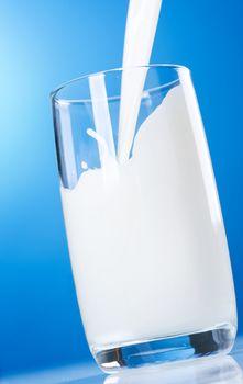 Pouring Healthy Fresh Milk