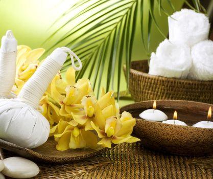 Spa Settings. Thai Massage