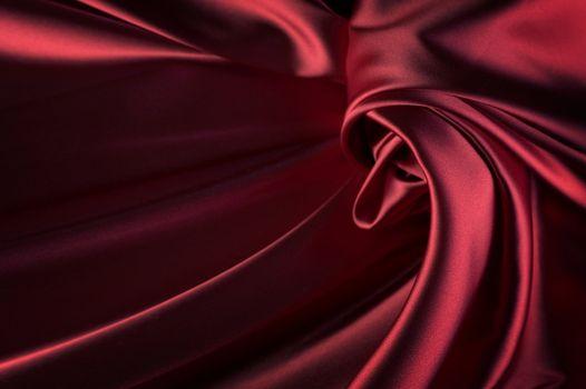 Beautiful Red Silk