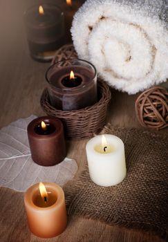 Cotton Towel Candles