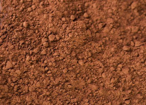 Cocoa Powder Background. Chocolate