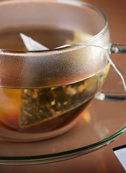 Tea Closeup