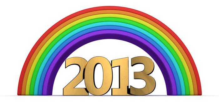Golden 2013 under the rainbow