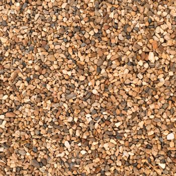 Heap of brown stones, natural background