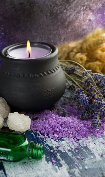 Spa And Body Care Treatment. Herbal Cosmetic