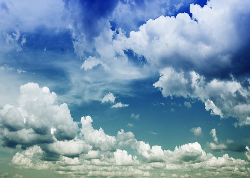 Background Of Cloudy Sky