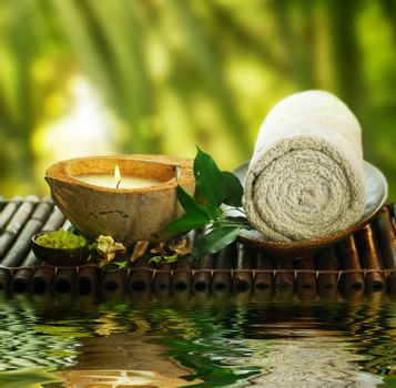 Spa Setting Outdoor