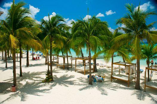 Caribbean Beach. Paradise Resort