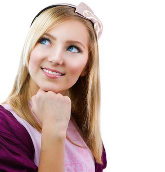 Teenage Student Girl Portrait