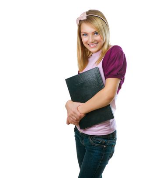 Fashion Teenage Student Girl
