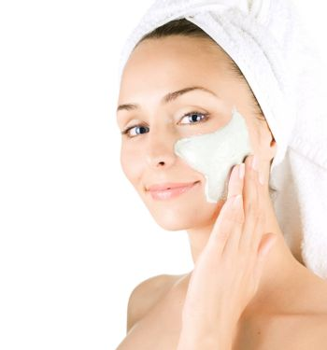 Spa Facial Mask. Day-spa