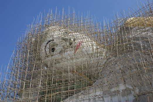 Buddha Construction, Myanmar