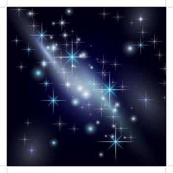 galaxy night star sky