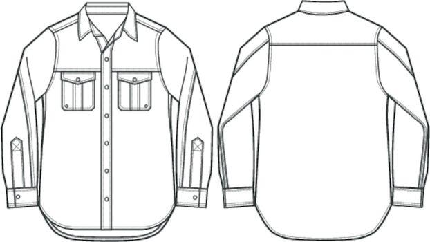 man formal shirt