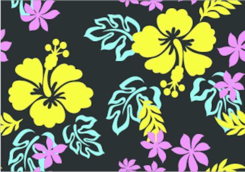 hibiscus flower print
