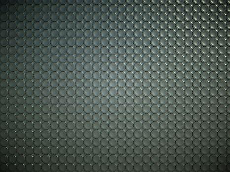 Black bulging circles texture or background