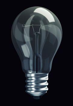 Great Idea: obsolete light bulb isolated