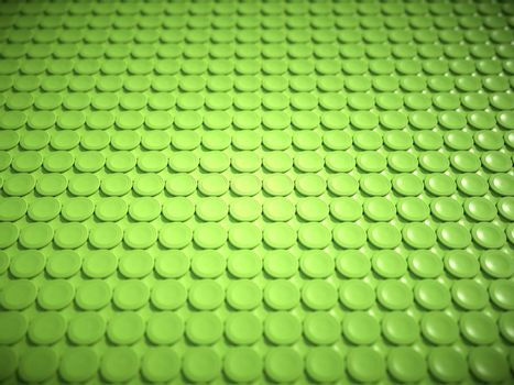 Green bulging circles texture or background